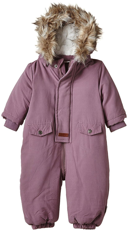 NAME IT Baby - Mädchen Schneeanzug Nitmaika Nb Wholesuit Wdh W Fur 415
