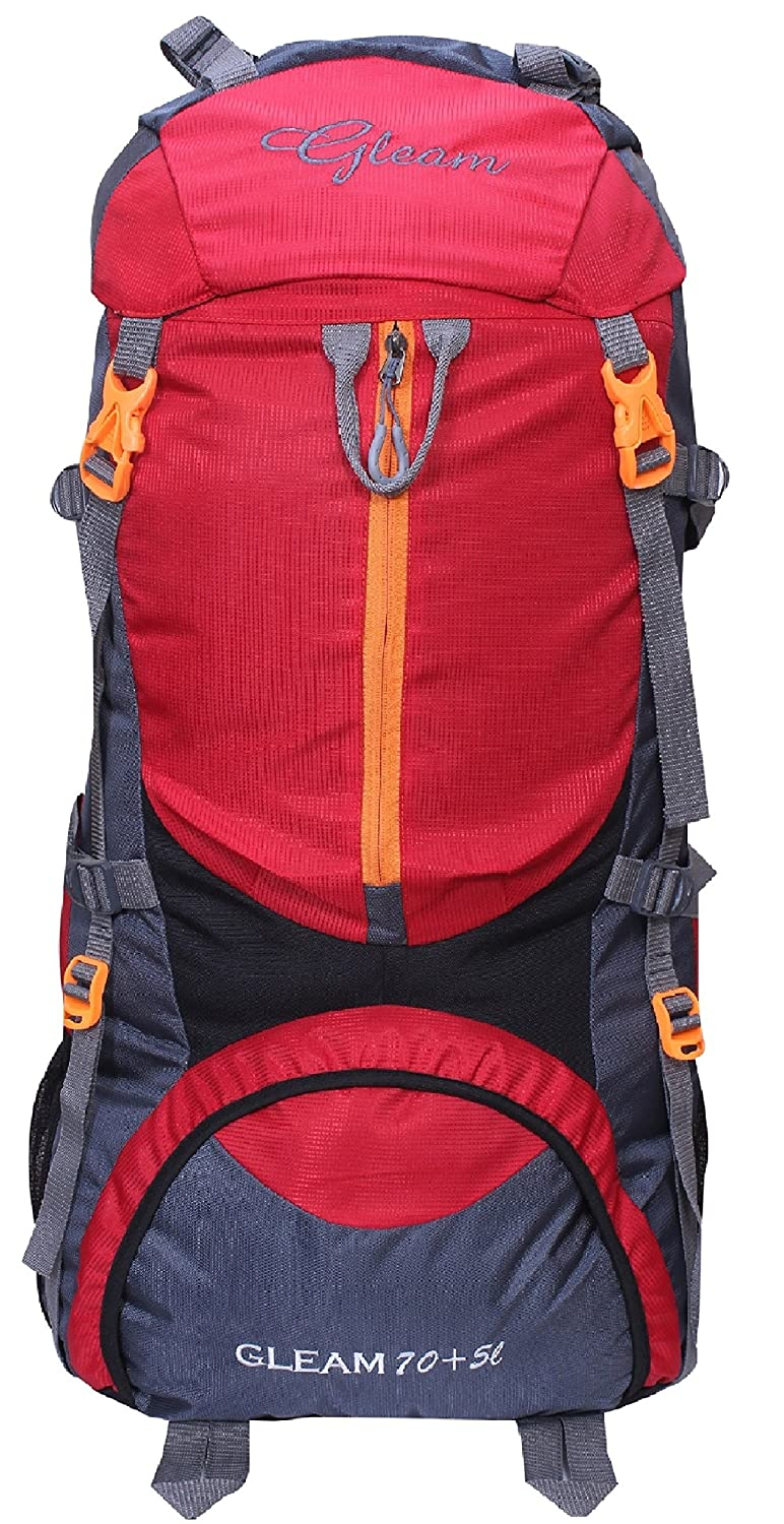 For 1499/-(70% Off) Gleam Rucksacks & Trekking Backpacks at 70% off at Amazon India