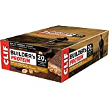 CLIF BUILDER'S - Protein Bar - Chocolate Peanut Butter Flavor - (68 Gram Non-GMO Bar, 12 Count)