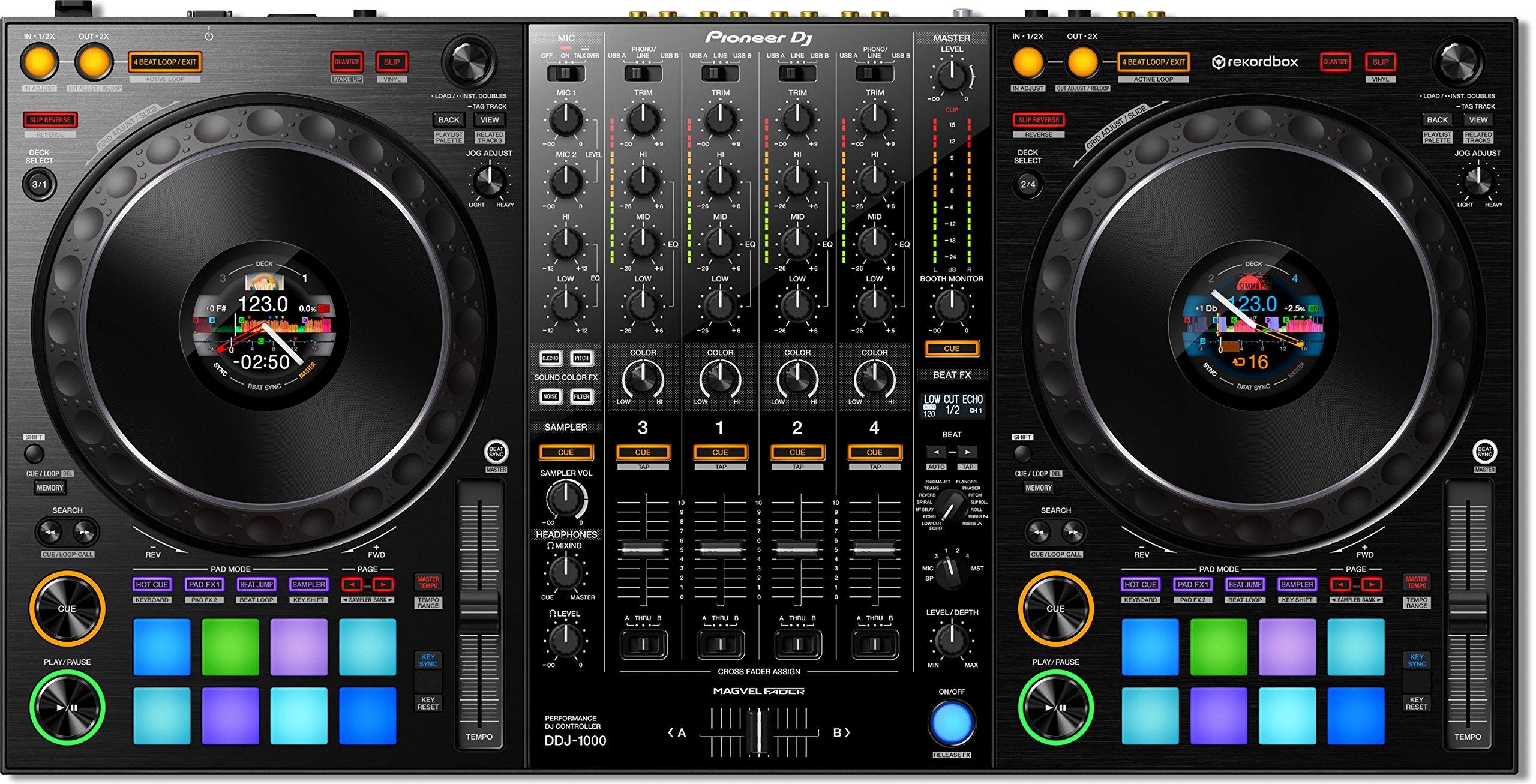 Pioneer DJ DDJ-1000 Professional DJ 4 channel controller - rekordbox by Pioneer (Image #1)