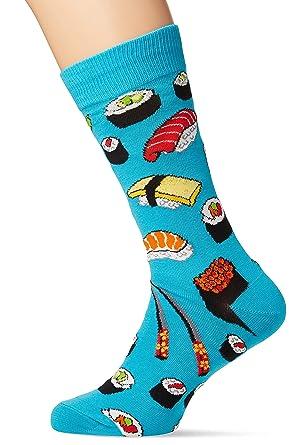 Socksmith Sushi, Calcetines para Hombre, Blue (Bright Blue Bright Blue), Talla