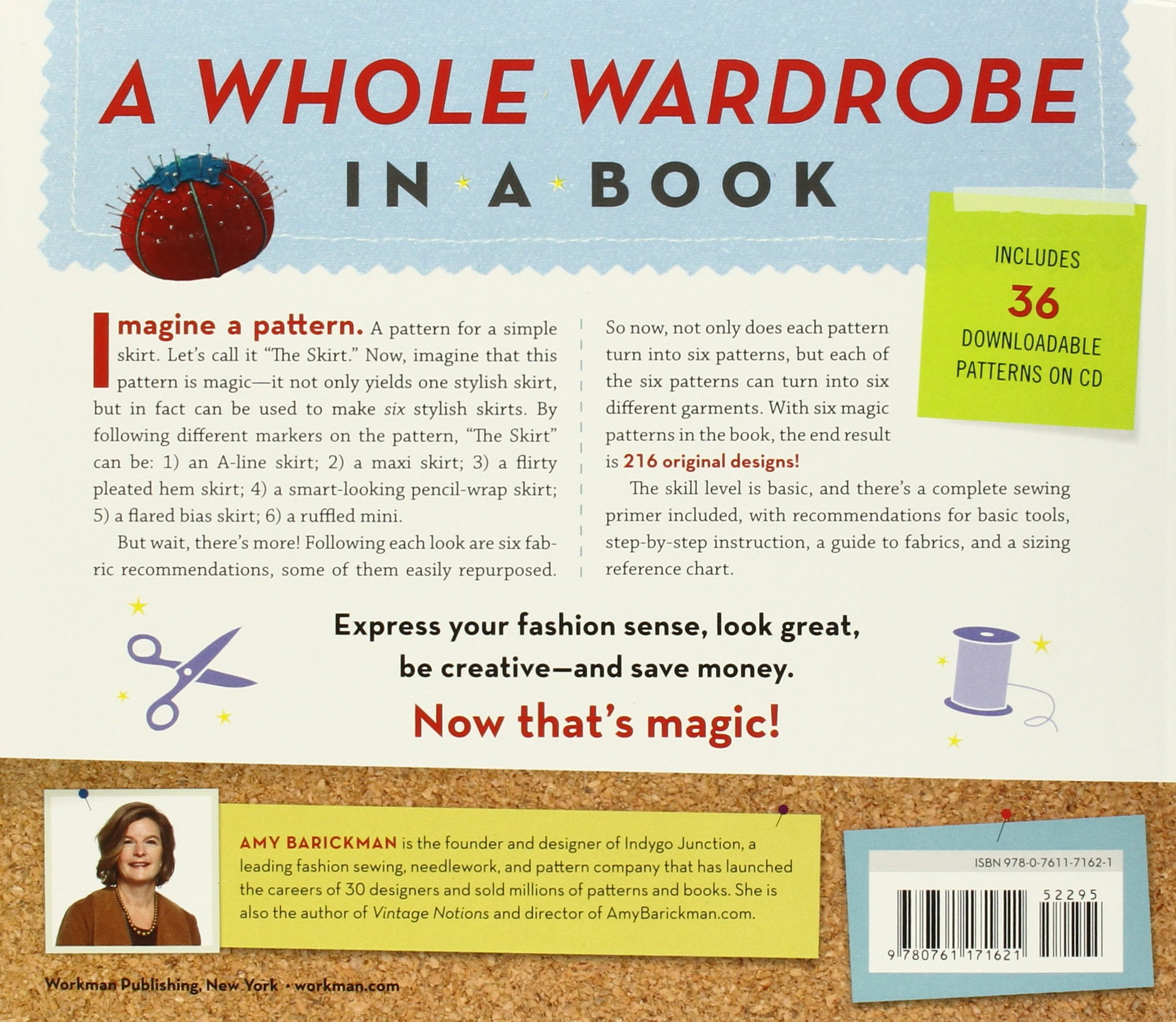 The Magic Pattern Book: Sew 6 Patterns into 36 Different Styles ...