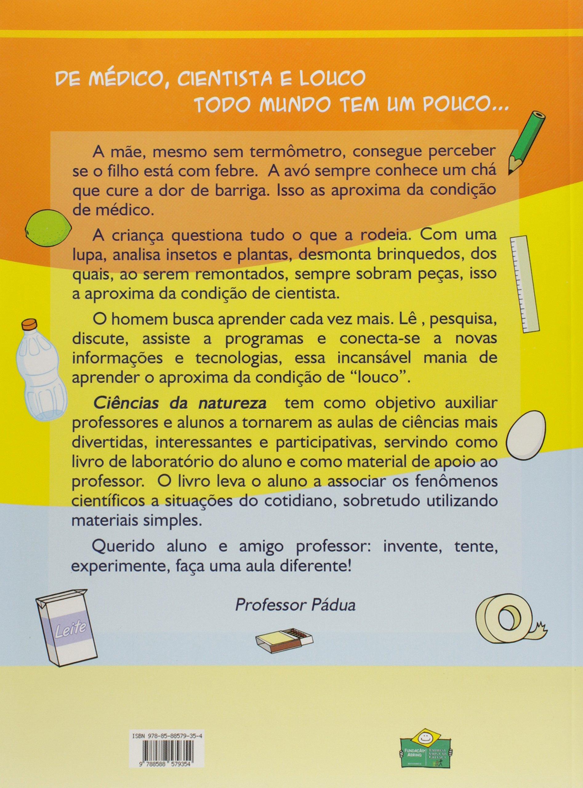 Ciências Da Natureza (Em Portuguese do Brasil): Professor Antônio de Pádua Duarte Teixeira: 9788588579354: Amazon.com: Books