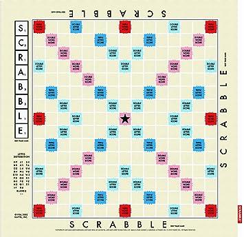 Scrabble Wild & Wolf - Paño de Cocina, diseño (inglés): Amazon.es: Hogar