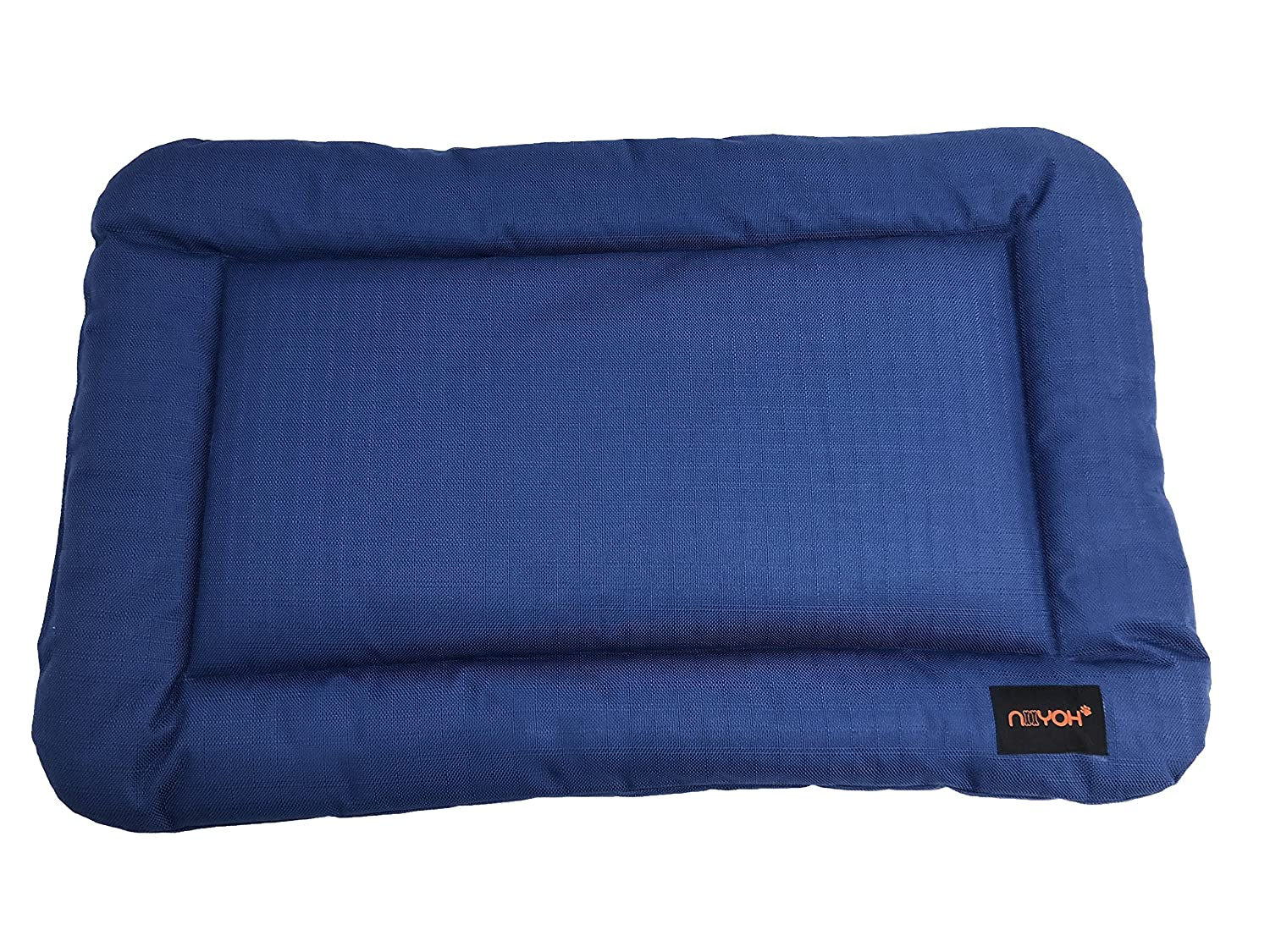 bluee Small 35\ bluee Small 35\ Niiyoh Mighty Dog Bed with Super Durable 1800D Ripstop Fabric (Great for Outdoors )