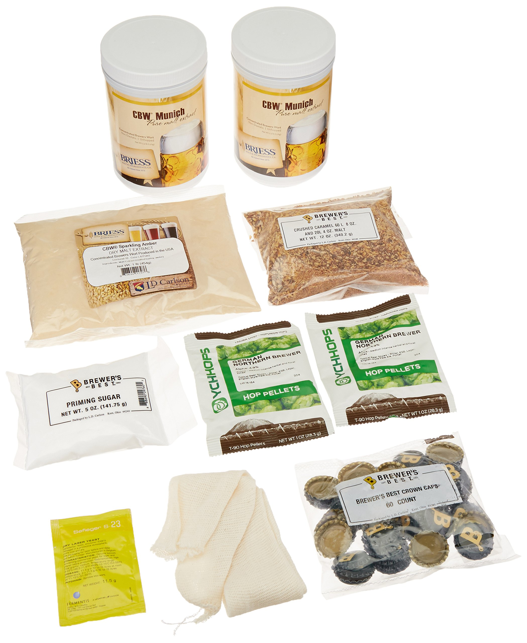German Oktoberfest Brewer's Best Home Brewing Ingredient Kit