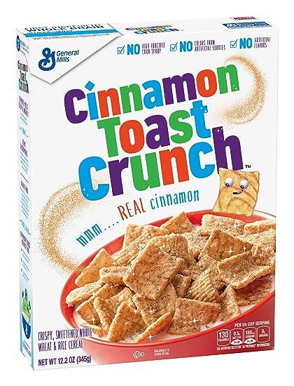 General Mills Cinnamon Toast Crunch, 345g Children's Cereals at amazon
