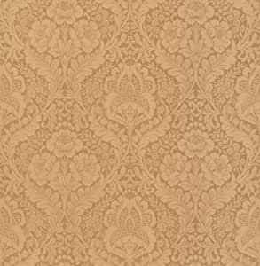 Permalink to Brewster Vignole Beige Damask Wallpaper