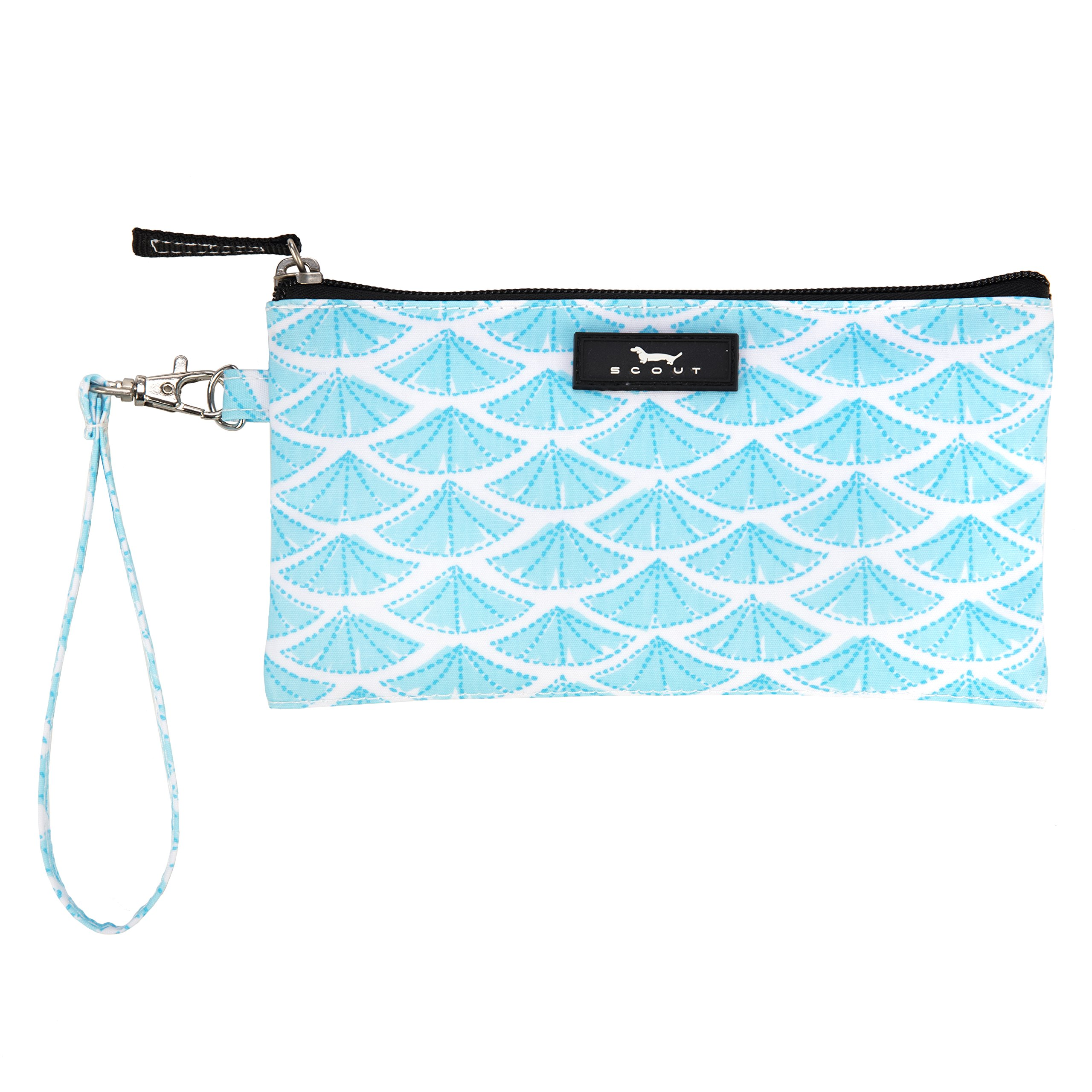 SCOUT Kate Wristlet, Essential Lightweight Clutch, Fits iPhone 6-8, Removable Strap, Water Resistant, Zips Closed, Swimfan