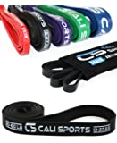 CALI SPORTS Resistance Bands and Pull Ups Exercise Bands | Perfect for Strength Training, Crossfit and Calisthenics Workout | Improve Mobility in Yoga and Pilates (one per sale) for Women and Men