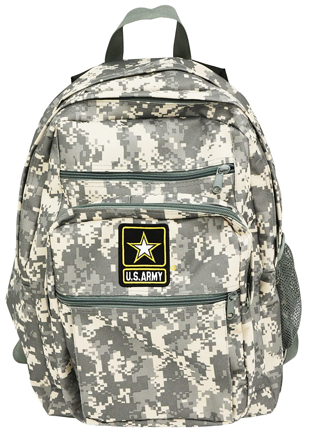 7f53cb77ba Amazon.com | Official US Army Strong Military Backpack Bag Digital  Camouflage Camo Print | Casual Daypacks