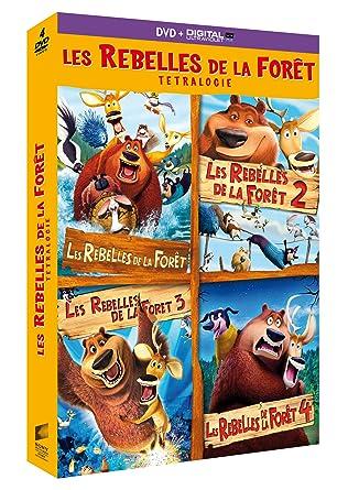 Les Rebelles De La Forêt Tetralogie Dvd Copie Digitale