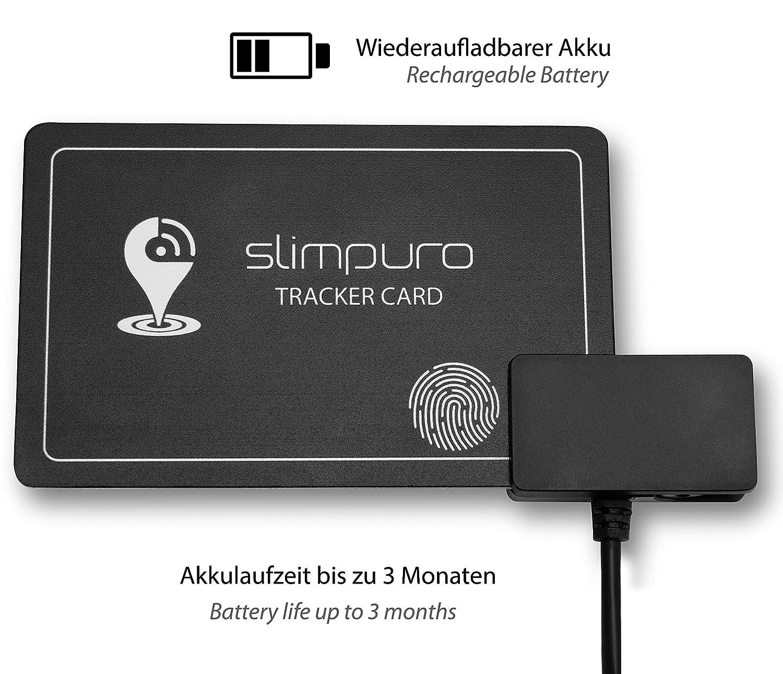 Slimpuro Finder Card With Bluetooth Wallet Finder Phone Finder Gps Locator Rechargeable Selfie Function 12 Mm Thin Handbag Finder App
