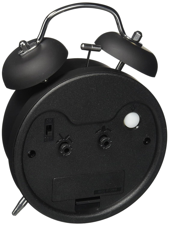 NO2 Super Laut HITO™ 4 inch keine Tickende Nachtlicht Nostalgischer Glockenwecker mit Quarzlaufwerk