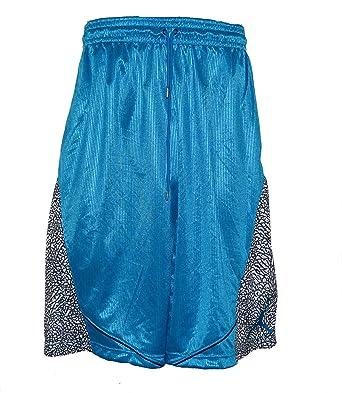 a56076f057e0 Amazon.com  Nike Men s Air Jordan Fly Elephant Basketball Shorts Medium  Gama Blue  Clothing