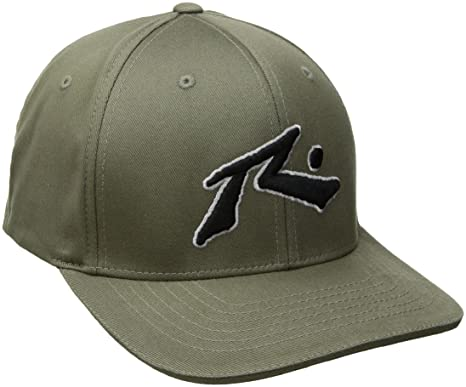 9ed267d05327e Rusty Mens Chronic 2 Flexfit Cap Baseball Cap - Green -  Amazon.co.uk   Clothing