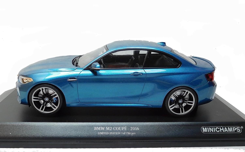 Modelcarスケール1 : 18 BMW m2 Coupe 2016ブルーMetalic Minichamps 155026101 Le B07589K3Y7