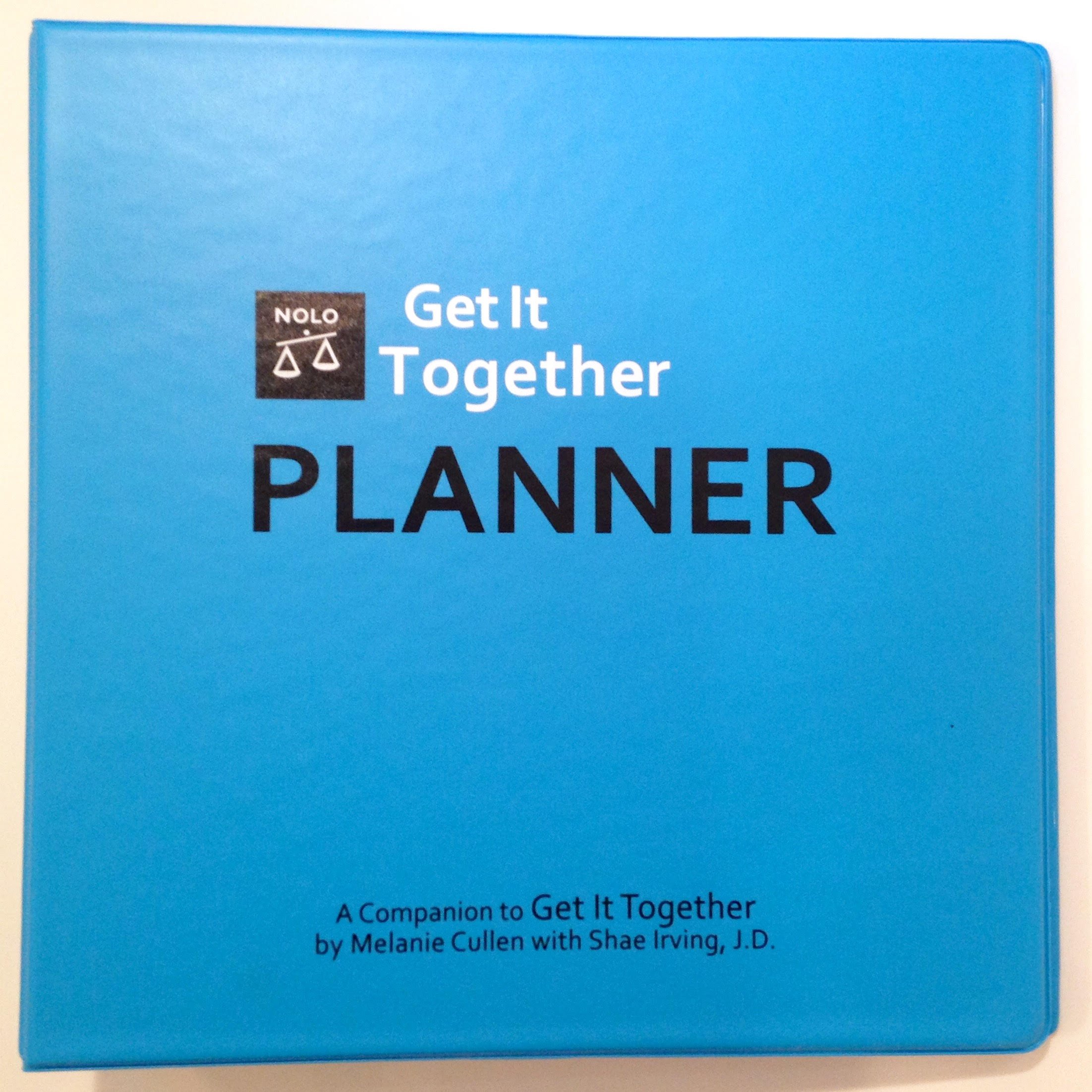 Binder & Tab Set to create your personal planner