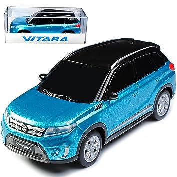 Suzuki Vitara Blau Turkis Mit Schwarz Ab 2015 1 43 Modellcarsonline Modell Auto Individiuellem