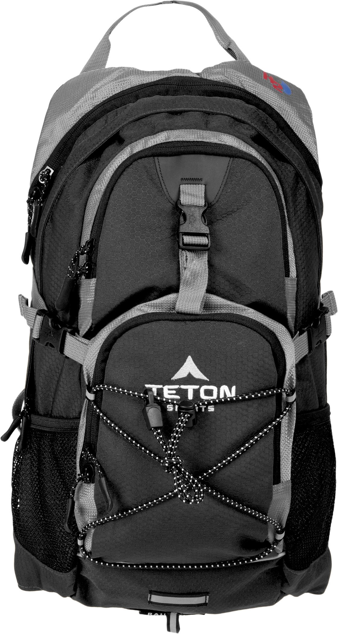 TETON Sports Oasis 1100 Hydration Pack | Free 2-Liter Hydration Bladder | Backpack design great for Hiking, Running, Cycling, and Climbing | Black by TETON Sports