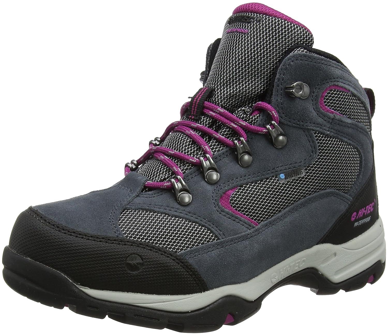 gris (Graphite Cool gris Boysenberry) Hi-Tec Storm Waterproof, Chaussures de Randonnée Hautes Femme 37 EU
