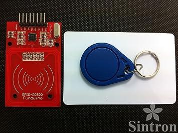 Sintron RC522 Grabador/Lector RFID con SPI para Arduino PIC + PDF: Amazon.es: Informática