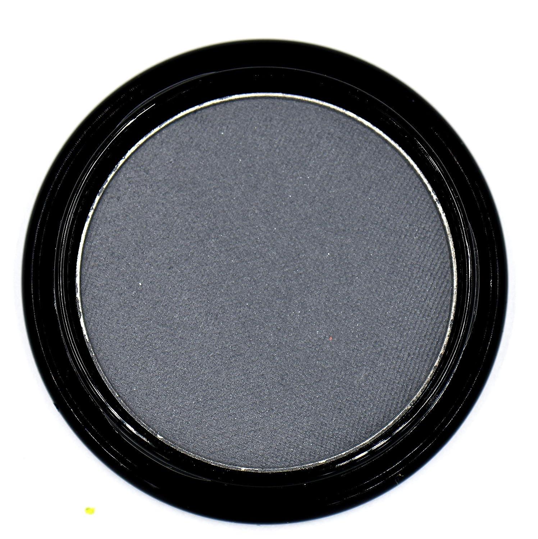 Navy Blue Grey Gray Silver Matte Opaque Pressed Powder Eye Shadow Eyeshadow Talc & Paraben Free Vegan No Animal Testing & Cruelty Free Matte eyeshadow