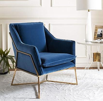 Surprising Amazon Com Safavieh Knt7025B Home Collection Evrex Velvet Machost Co Dining Chair Design Ideas Machostcouk