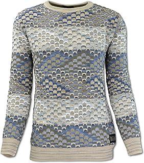 Carlo Colucci Mens Polka Dot Jumper Amazoncouk Clothing