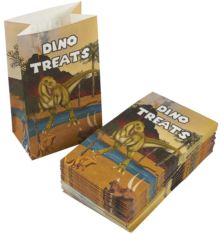 Amazon.com: Dinosaurio bolsa de golosinas – 12 unidades ...