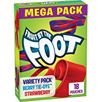 Fruit by the Foot, Fruit Snacks, Berry and Strawberry, 13.5 oz