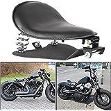 "ECOTRIC 3"" Driver Soft Motorcycle Solo Seat Spring Bracket Base Mount Kit Compatible for Harley Davidson Honda Yamaha Kawasak"