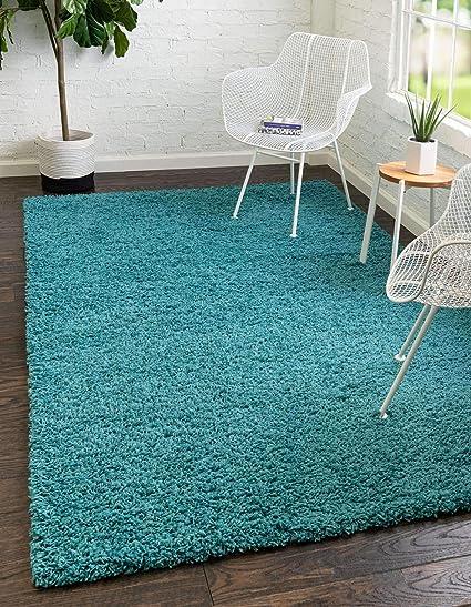 5x8 Custom Carpet Area Rug Soft Aqua Blue//Green
