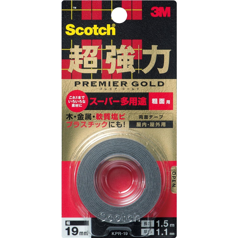 3Mスコッチ超強力両面テープ KPR-19