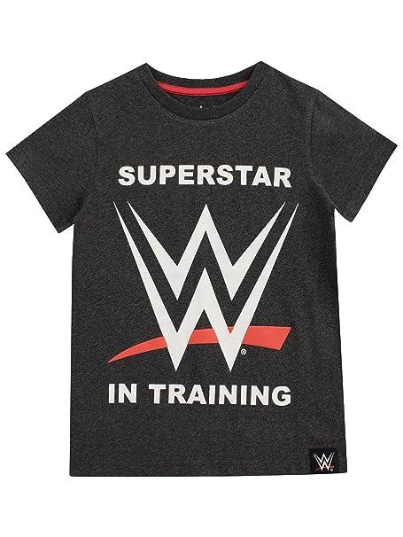 WWE Camiseta para Niño World Wrestling Entertainment: Amazon.es: Ropa y accesorios