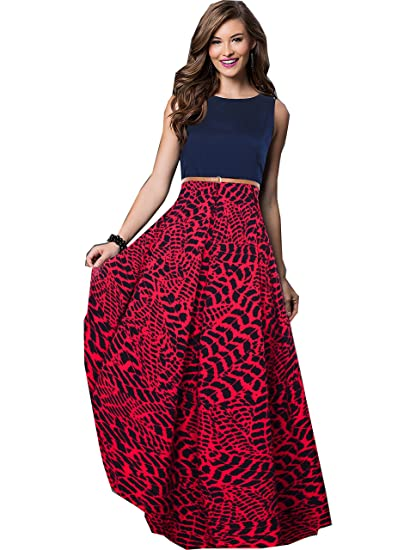 8a626fa7a704 Royal Export Women s A-Line Maxi Dress (G 24 X-Large Maroon X-Large)  Amazon .in  Clothing   Accessories