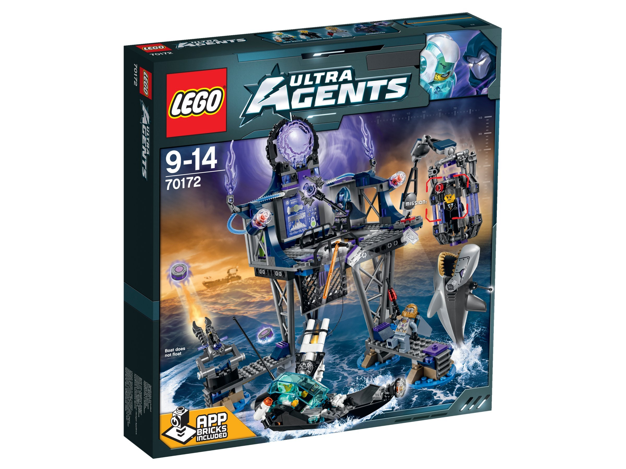 Lego Ultra-agent anti-matter of the portal hideout