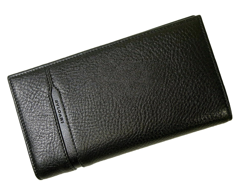 (ブルガリ) 長財布 グレインカーフレザー ブラック メンズ 二つ折 オクト BG-1284 [並行輸入品] B01D421AJ0