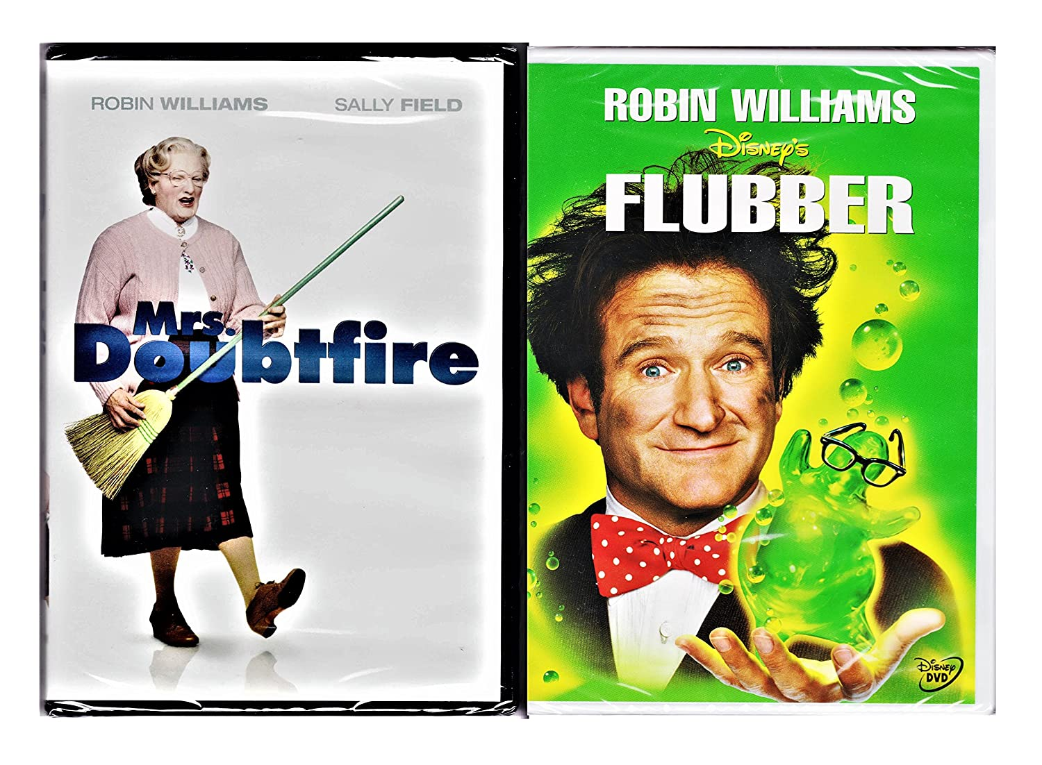 Robin Williams Fun Family Pack - Disney Flubber & Mrs. Doubtfire ...