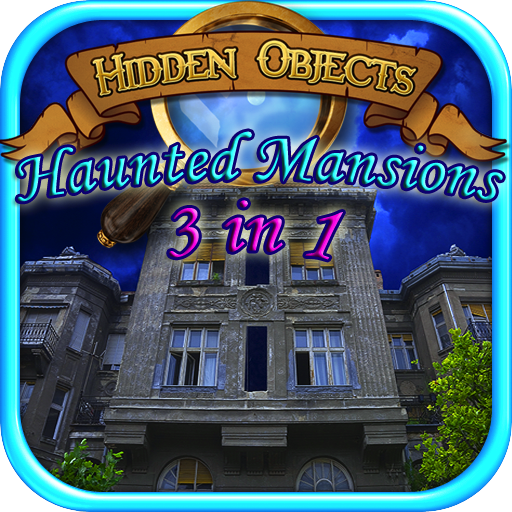 Hidden Objects Haunted Mystery: 3 in 1 Games Pack - Haunted Secrets, Haunted Mansions & Halloween Haunts -