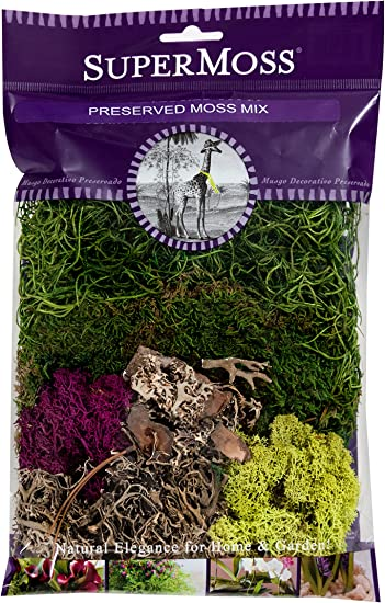 2oz 110 Cubic Inch Moss Mix Preserved 23310 SuperMoss