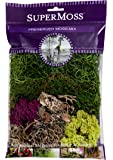 Super Moss (23310) Moss Mix Preserved, 2oz (110 Cubic Inch)