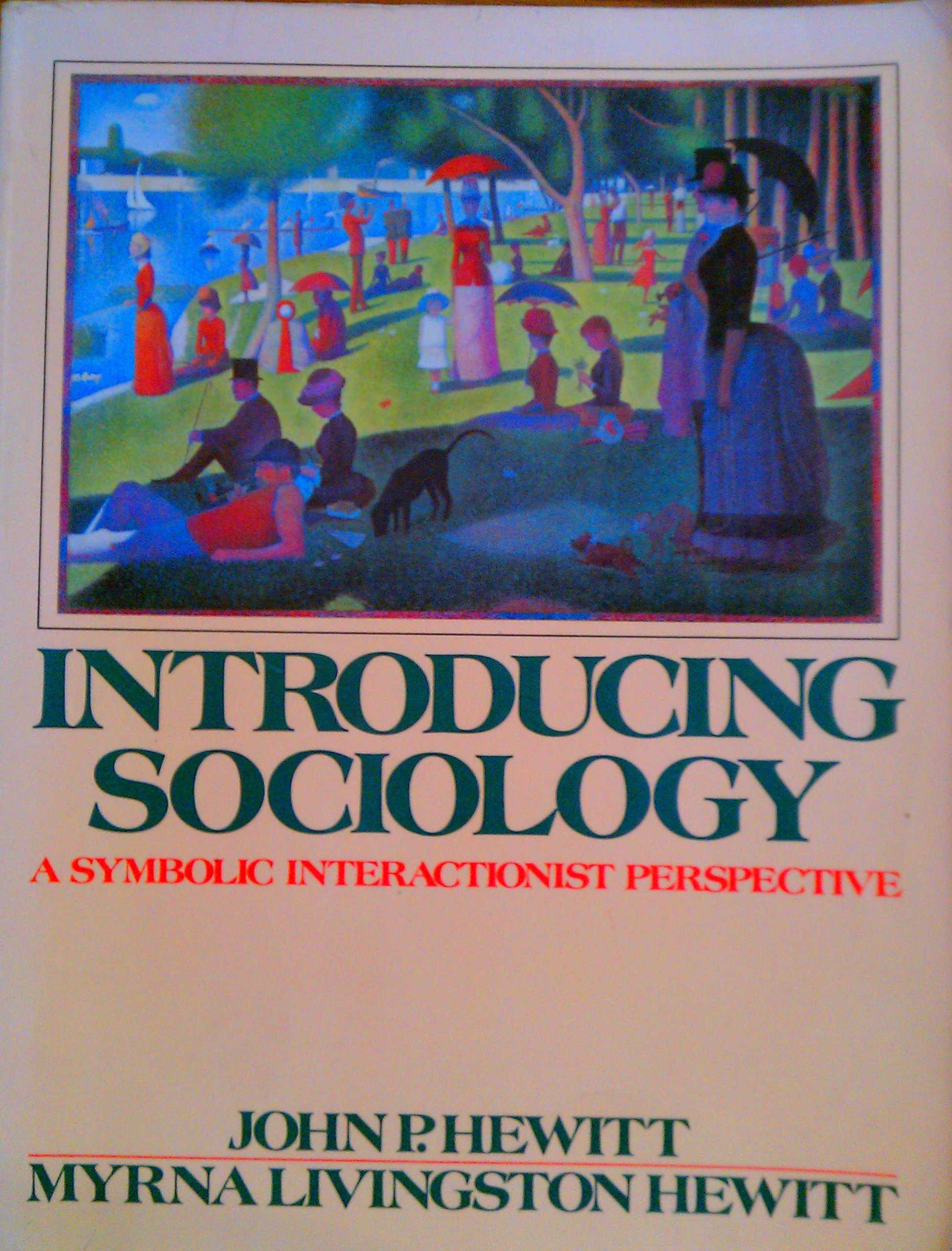 Buy Introducing Sociology A Symbolic Interactionist Perspective