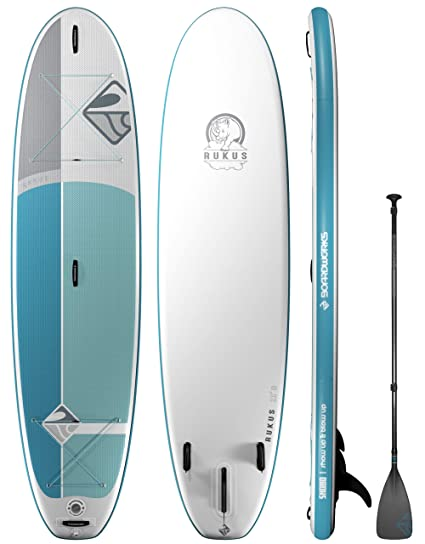 Amazon.com: Boardworks Surf Shubu Rukus - Tabla hinchable ...