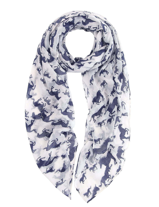 DiaryLook Dames foulards doux dimpression de licorne//cheval pour cadeau surdimensionn/é de femmes