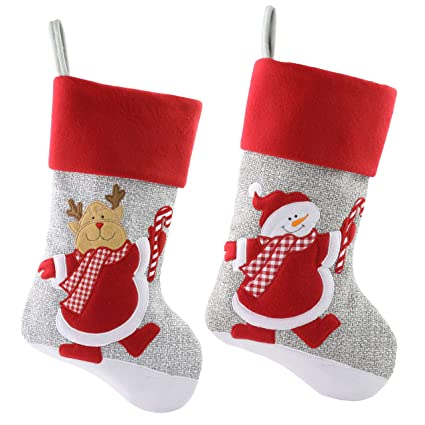 wewill personalized christmas stockings home decorations stockings for family color 2 - Christmas Decorations For Stockings