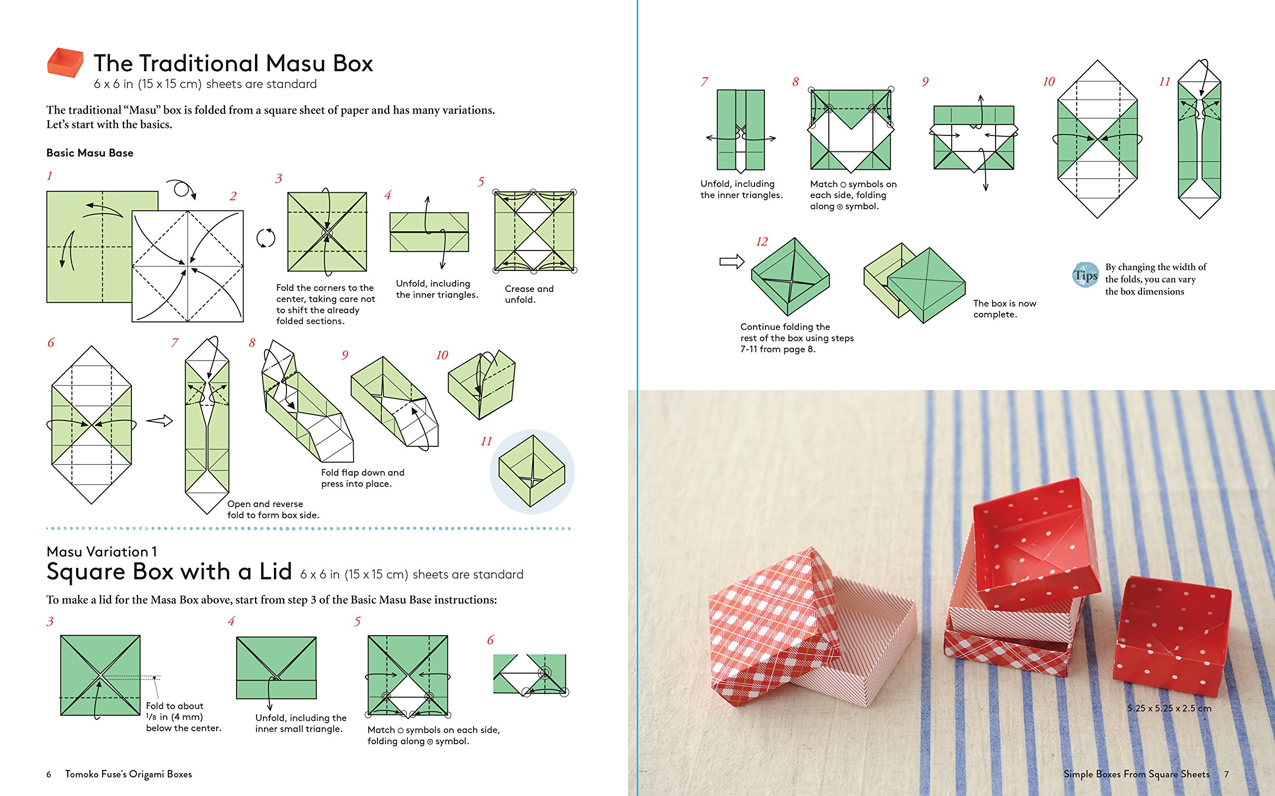 Tomoko Fuses Origami Boxes Beautiful Paper Gift From Japans Fuse Hexagon Box Instructions Leading Master Book With 30 Projects 9780804850063