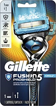 Gillette Fusion ProShield Chill Men's Razor with 1 Blade Refill