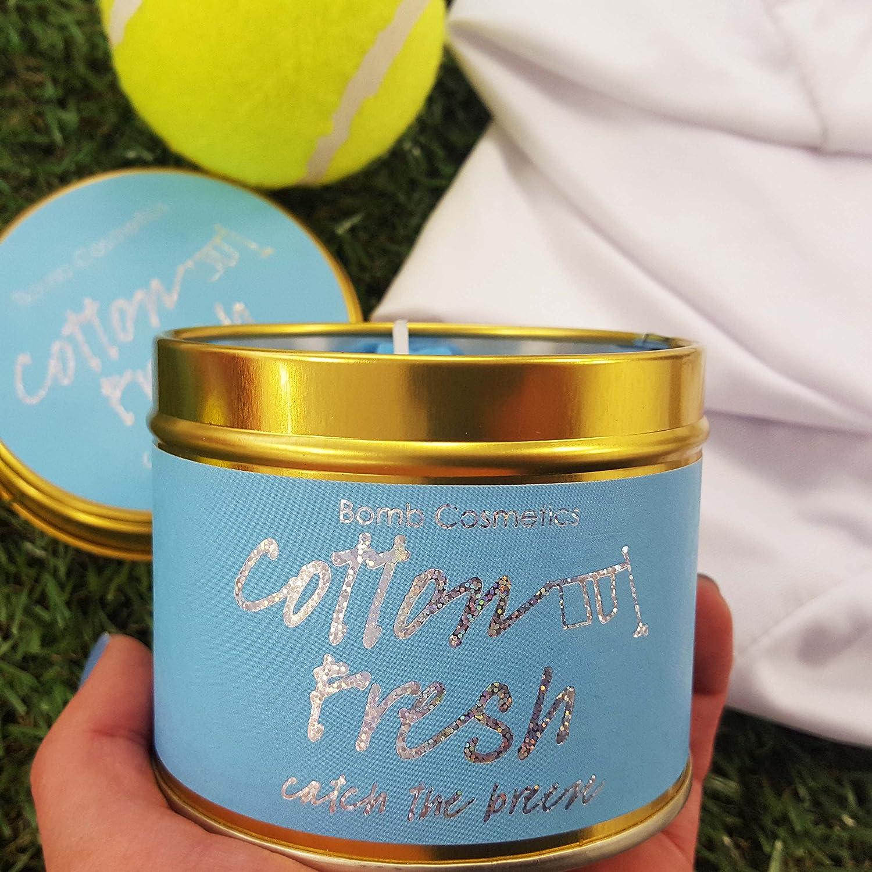 Amazon.com: Bomb Cosmetics miel & Peach estañado vela: Beauty