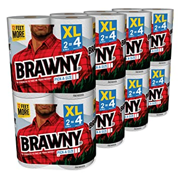 Brawny Most Absorbent Paper Towel